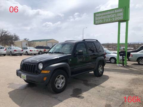 2006 Jeep Liberty for sale at Independent Auto in Belle Fourche SD