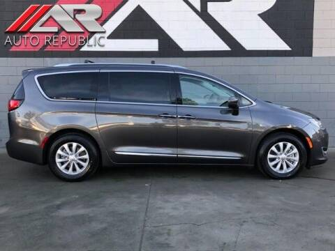 2018 Chrysler Pacifica for sale at Auto Republic Fullerton in Fullerton CA