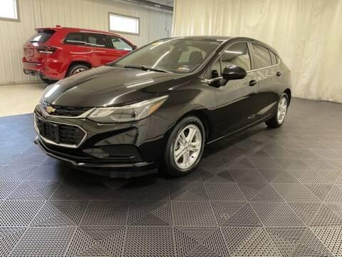 2017 Chevrolet Cruze for sale at Monster Motors in Michigan Center MI