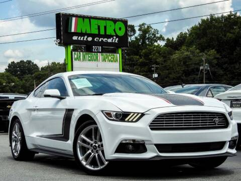 2016 Ford Mustang for sale at Metro Auto Credit in Smyrna GA