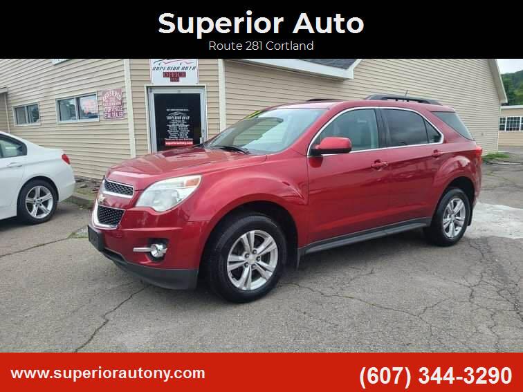 2013 Chevrolet Equinox for sale at Superior Auto in Cortland NY