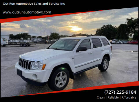 2005 Jeep Grand Cherokee for sale at Out Run Automotive Sales and Service Inc in Tampa FL