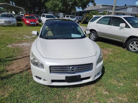 2011 Nissan Maxima for sale at Wally's Cars ,LLC. in Morehead City NC