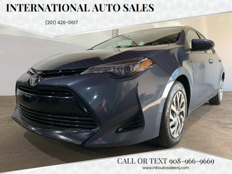 2017 Toyota Corolla for sale at International Auto Sales in Hasbrouck Heights NJ
