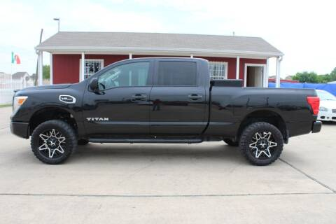 2017 Nissan Titan XD for sale at AMT AUTO SALES LLC in Houston TX