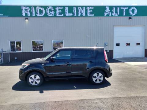 2014 Kia Soul for sale at RIDGELINE AUTO in Chubbuck ID