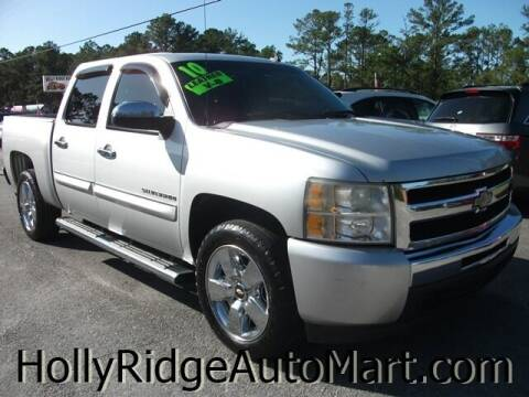 2010 Chevrolet Silverado 1500 for sale at Holly Ridge Auto Mart in Holly Ridge NC