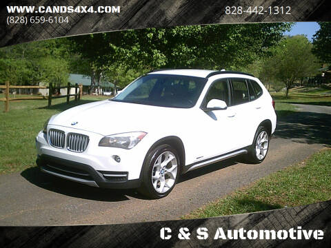 2013 BMW X1 for sale at C & S Automotive in Nebo NC