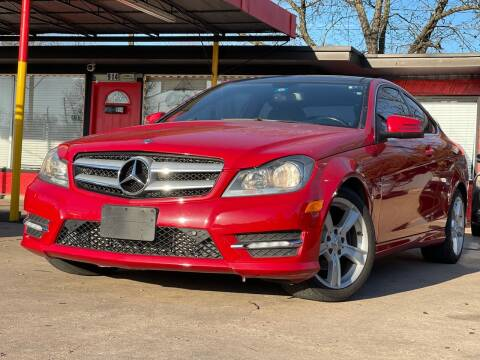 2012 Mercedes-Benz C-Class for sale at Cash Car Outlet in Mckinney TX