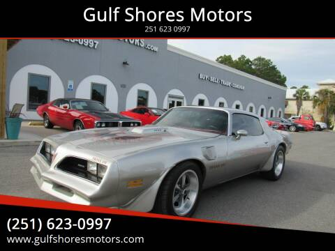1978 Pontiac Firebird for sale at Gulf Shores Motors in Gulf Shores AL
