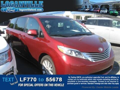 2015 Toyota Sienna for sale at Loganville Quick Lane and Tire Center in Loganville GA
