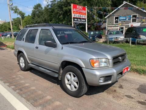 2002 Nissan Pathfinder for sale at Korz Auto Farm in Kansas City KS