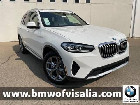 2022 BMW X3 for sale at BMW OF VISALIA in Visalia CA