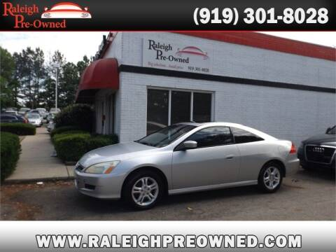 2007 Honda Accord for sale at Raleigh Pre-Owned in Raleigh NC