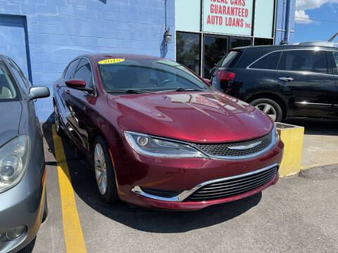 2015 Chrysler 200 for sale at Ideal Cars in Hamilton OH