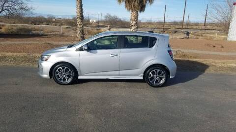 2018 Chevrolet Sonic for sale at Ryan Richardson Motor Company in Alamogordo NM