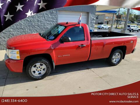 2010 Chevrolet Silverado 1500 for sale at Motor City Direct Auto Sales & Service in Pontiac MI