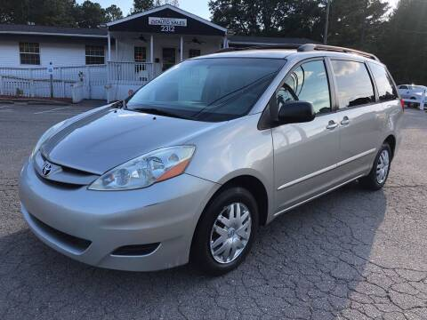 2006 Toyota Sienna for sale at CVC AUTO SALES in Durham NC
