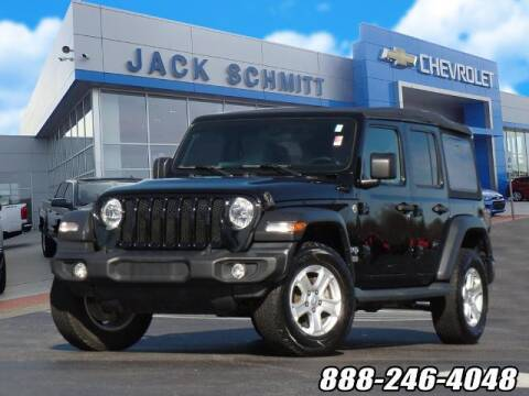 2018 Jeep Wrangler Unlimited for sale at Jack Schmitt Chevrolet Wood River in Wood River IL