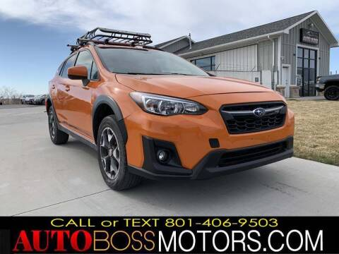 2018 Subaru Crosstrek for sale at Auto Boss in Woodscross UT