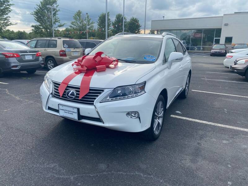 2015 Lexus RX 450h for sale at Charlotte Auto Group, Inc in Monroe NC