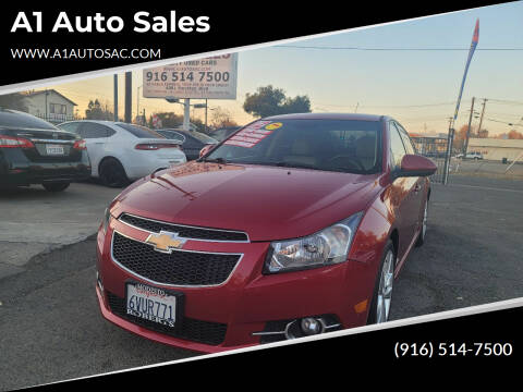 2012 Chevrolet Cruze for sale at A1 Auto Sales in Sacramento CA