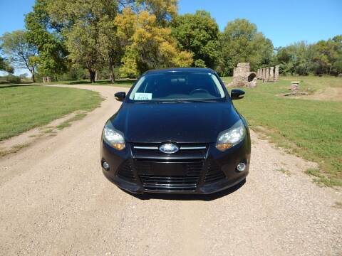 2014 Ford Focus for sale at S & M Auto Sales in Centerville SD
