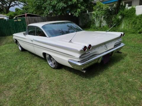 1960 Pontiac Catalina for sale at Classic Car Deals in Cadillac MI