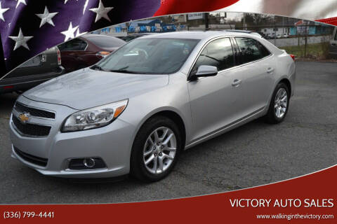 2013 Chevrolet Malibu for sale at Victory Auto Sales in Randleman NC
