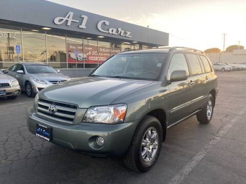 2007 Toyota Highlander for sale at A1 Carz, Inc in Sacramento CA