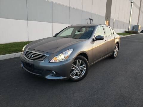 2015 Infiniti Q40 for sale at Positive Auto Sales, LLC in Hasbrouck Heights NJ