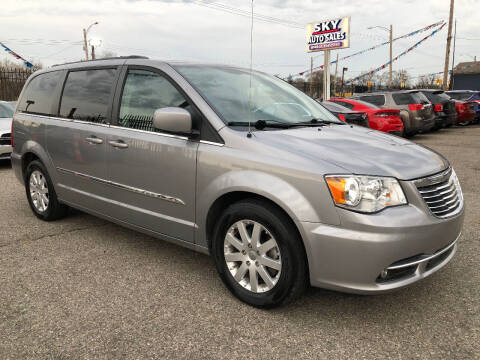 2013 Chrysler Town and Country for sale at SKY AUTO SALES in Detroit MI