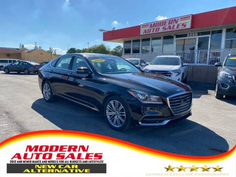2018 Genesis G80 for sale at Modern Auto Sales in Hollywood FL