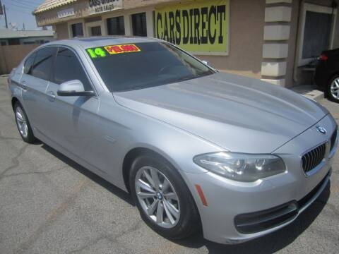 2014 BMW 5 Series for sale at Cars Direct USA in Las Vegas NV