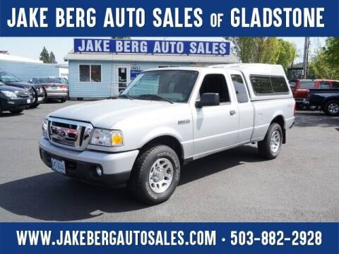 2011 Ford Ranger for sale at Jake Berg Auto Sales in Gladstone OR