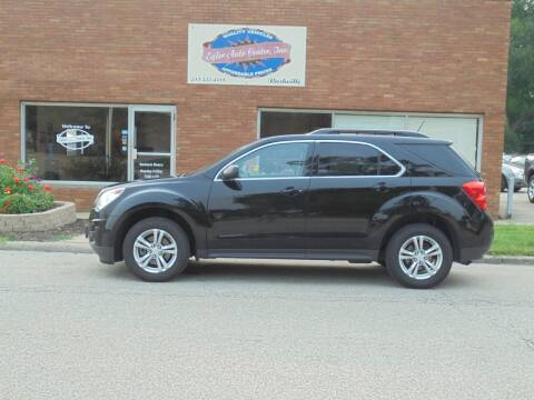 2013 Chevrolet Equinox for sale at Eyler Auto Center Inc. in Rushville IL