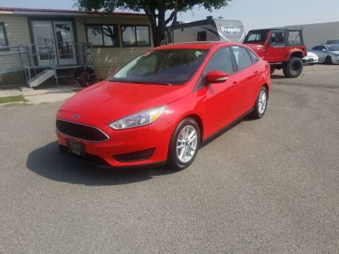 2015 Ford Focus for sale at Revolution Auto Group in Idaho Falls ID