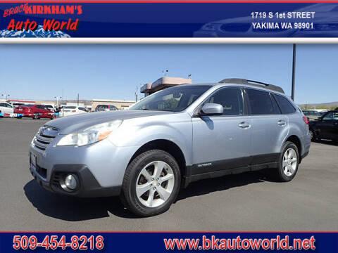 2014 Subaru Outback for sale at Bruce Kirkham Auto World in Yakima WA