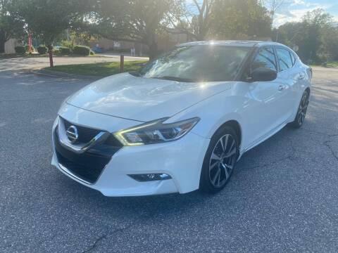 2016 Nissan Maxima for sale at Triple A's Motors in Greensboro NC