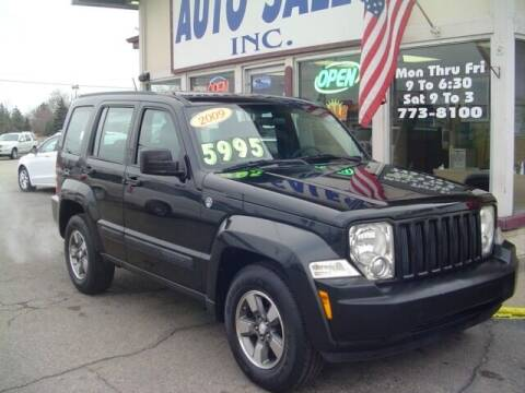 2009 Jeep Liberty for sale at G & L Auto Sales Inc in Roseville MI