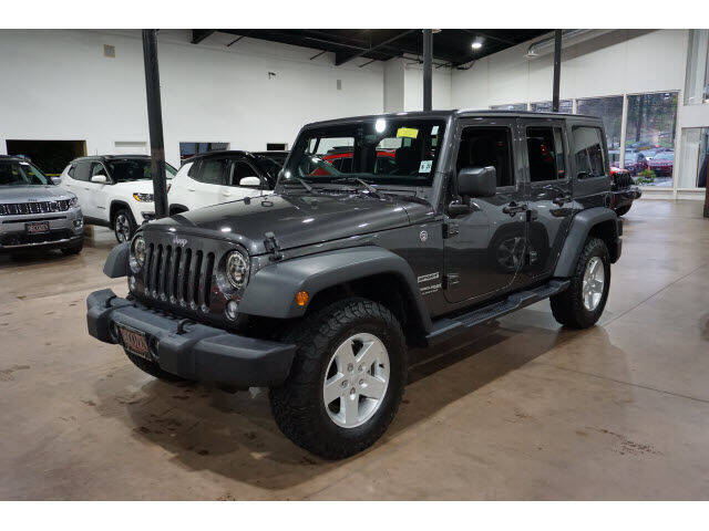 2018 Jeep Wrangler JK Unlimited 4x4 Sport 4dr SUV - Montclair NJ