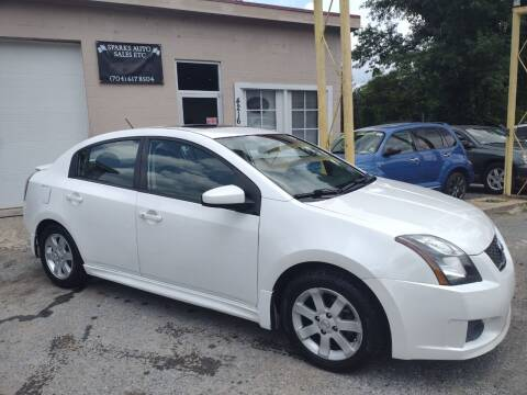 2012 Nissan Sentra for sale at Sparks Auto Sales Etc in Alexis NC
