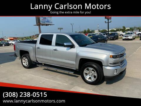2017 Chevrolet Silverado 1500 for sale at Lanny Carlson Motors in Kearney NE