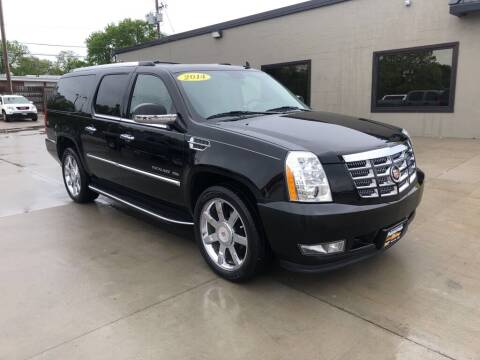 2014 Cadillac Escalade ESV for sale at Tigerland Motors in Sedalia MO