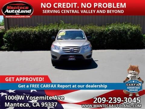 2012 Hyundai Santa Fe for sale at Manteca Auto Land in Manteca CA