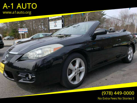 2007 Toyota Camry Solara for sale at A-1 Auto in Pepperell MA