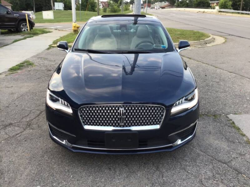 2017 Lincoln MKZ for sale at One Price Auto in Mount Clemens MI