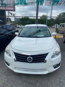 2016 Nissan Altima for sale at E-Z Pay Used Cars in McAlester OK