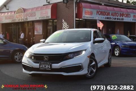 2019 Honda Civic for sale at www.onlycarsnj.net in Irvington NJ