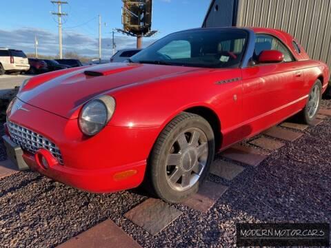 2002 Ford Thunderbird for sale at Modern Motorcars in Nixa MO